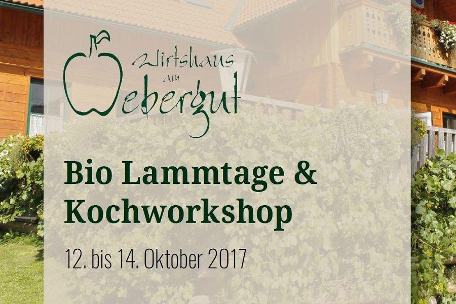 Bio-Lammtage mit Kochworkshop