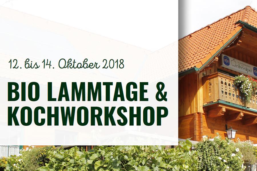 Bio Lammtage & Kochworkshop